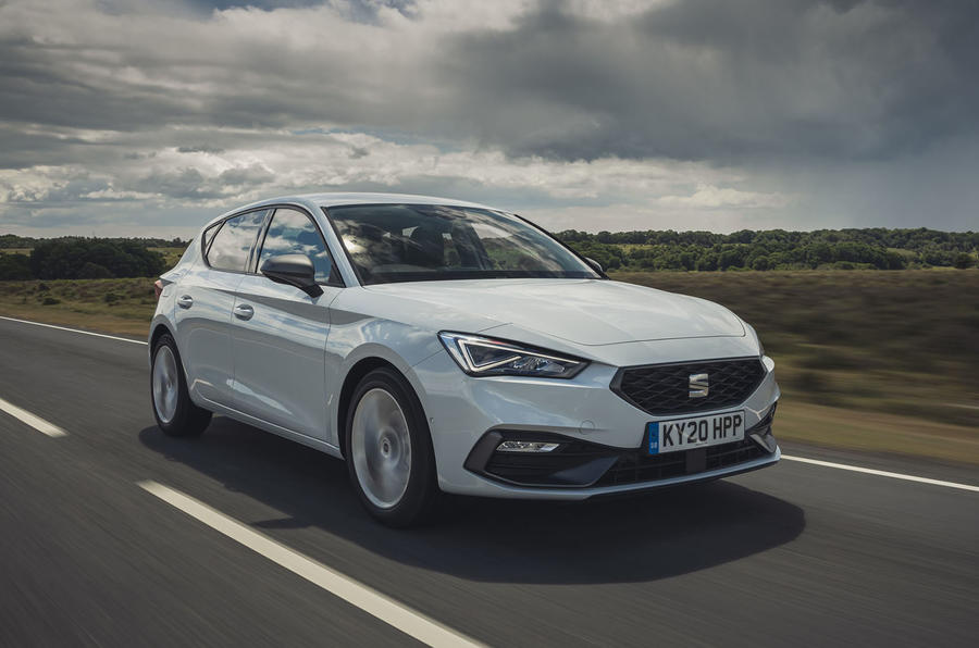 Seat Leon 2020 UK first drive review - hero front