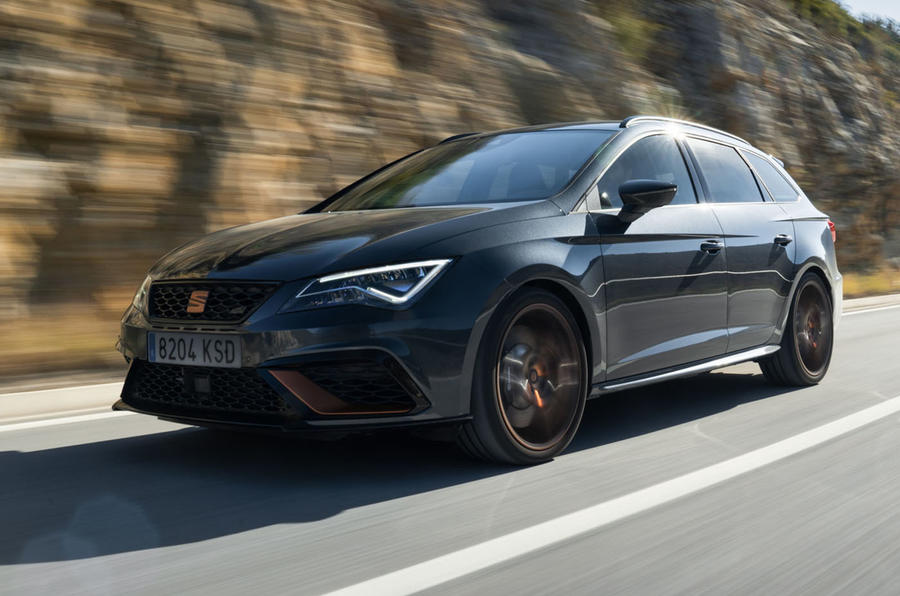 Seat Leon Cupra R ST 2019 first drive review - hero front