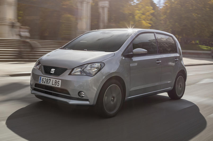 Top 10 city cars 2020 - Seat Mii Electric