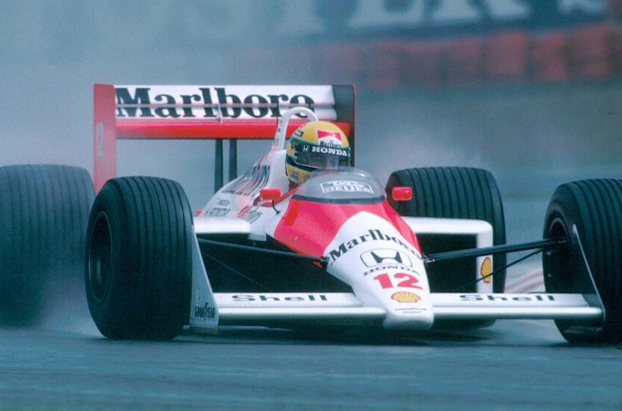 Senna in 1988 Japanese GP