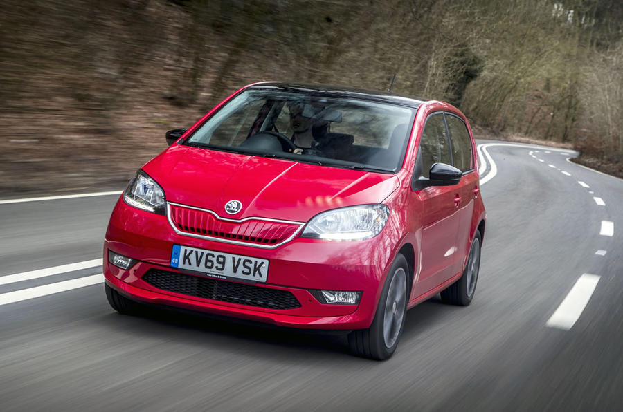 Top 10 city cars 2020 - Skoda Citigo-e iV
