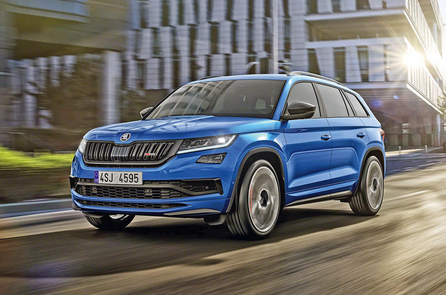 Skoda Kodiaq vRS 2019 official reveal