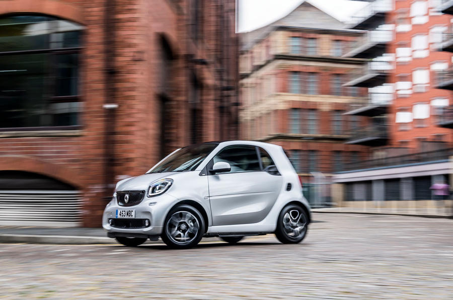 Smart Fortwo 2020 - tracking side