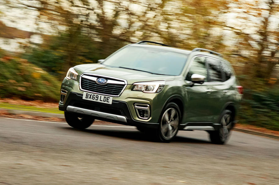 Subaru Forester eBoxer 2019 UK first drive review - hero front