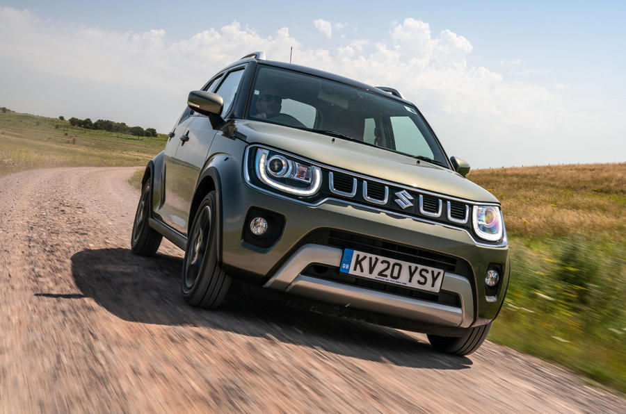 Suzuki Ignis hybrid 2020 UK first drive review - hero front