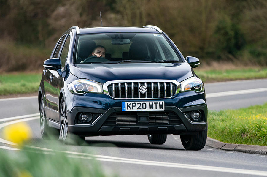 Suzuki SX4 S-Cross Hybrid 2020 UK first drive review - hero front