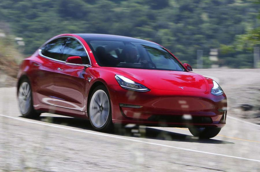 Tesla taking orders for shorter-range, $45,000 Model 3