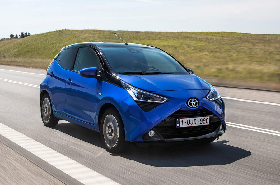 Toyota Aygo 2018 review hero front