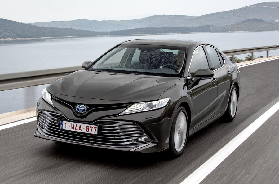 Toyota Camry 2019 European first drive review - hero front