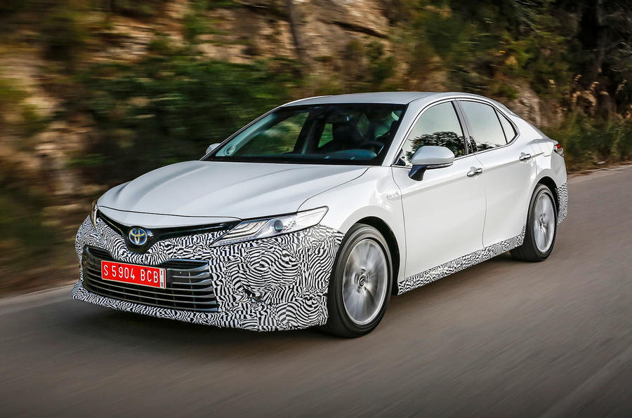 Toyota Camry 2019 first drive review hero front