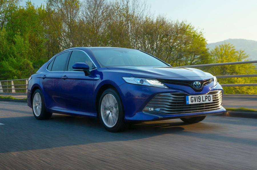 Toyota Camry 2019 UK first drive review - hero front