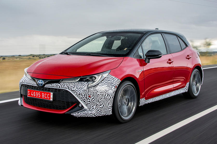 Toyota Corolla 2018 prototype first drive - hero front