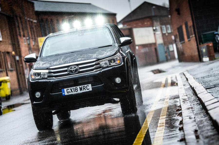 Toyota Hilux Invincible 50 2019 first drive review - hero front