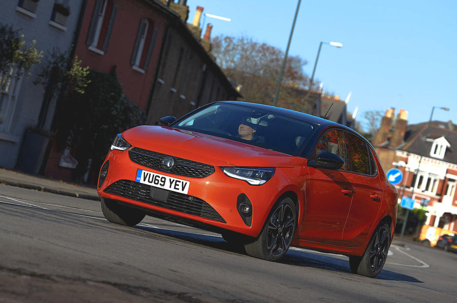 Vauxhall Corsa 2019 UK first drive review - hero front