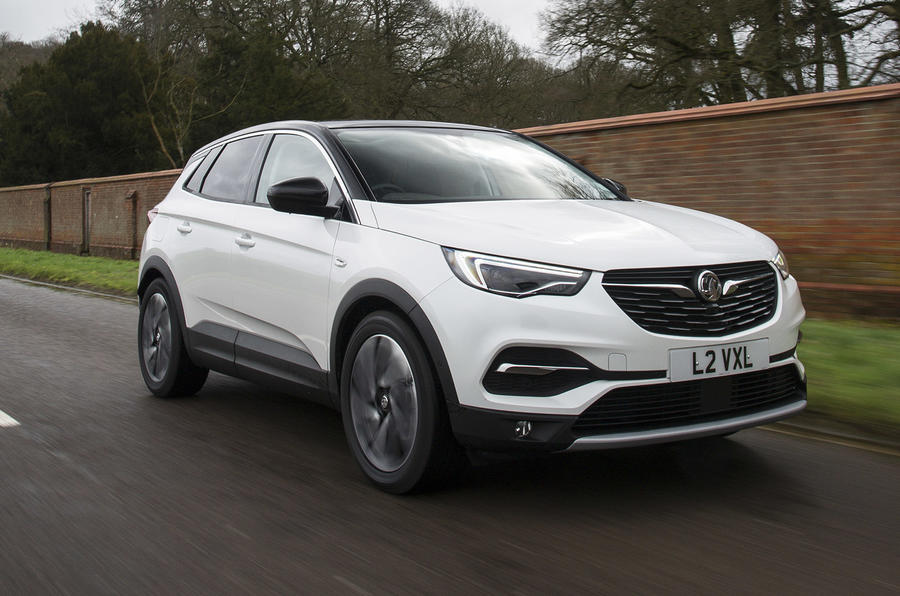 Vauxhall Grandland X Ultimate 2018 UK review hero front