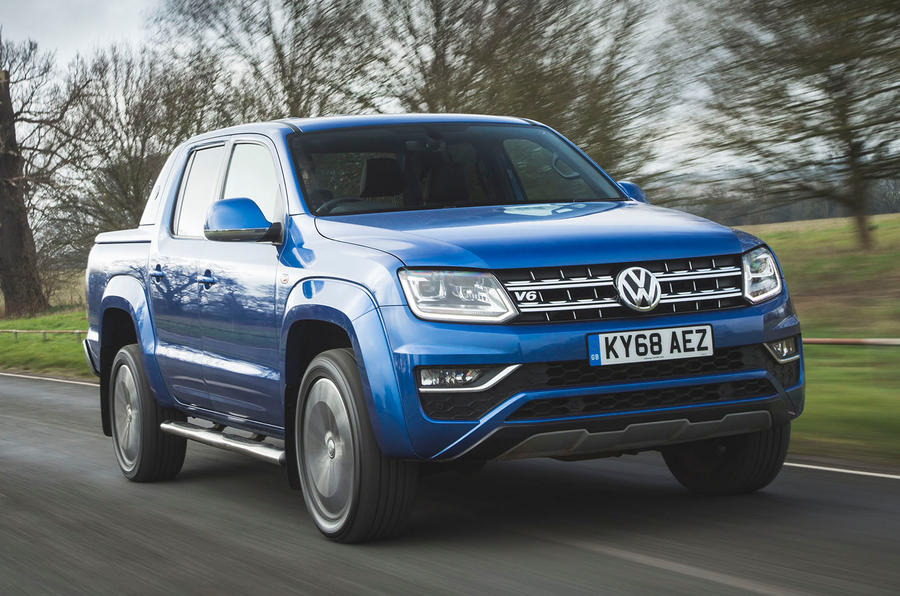 Volkswagen Amarok Aventura 2019 first drive review - hero front