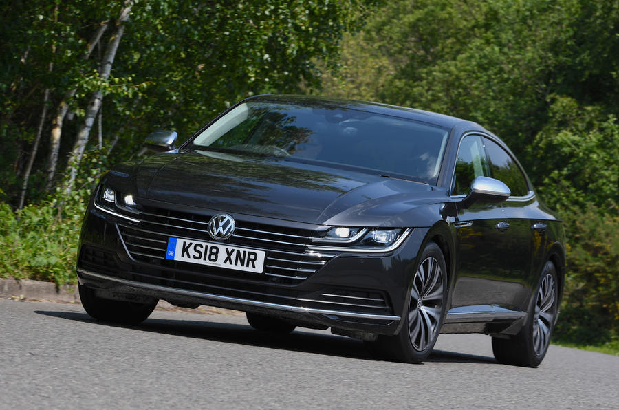 Volkswagen Arteon 1.5 EVO 2018 UK review hero front