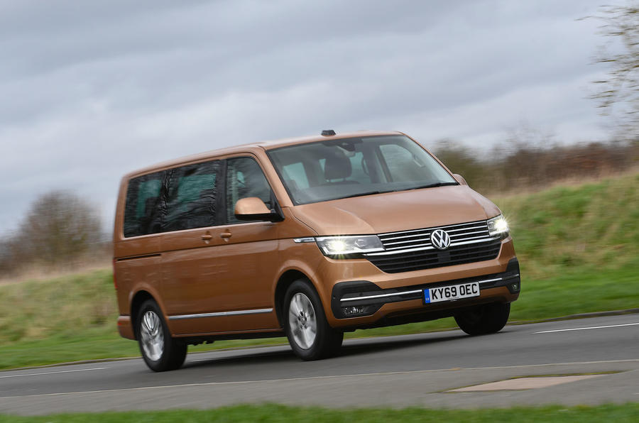Volkswagen Caravelle 2020 UK first drive review - hero front