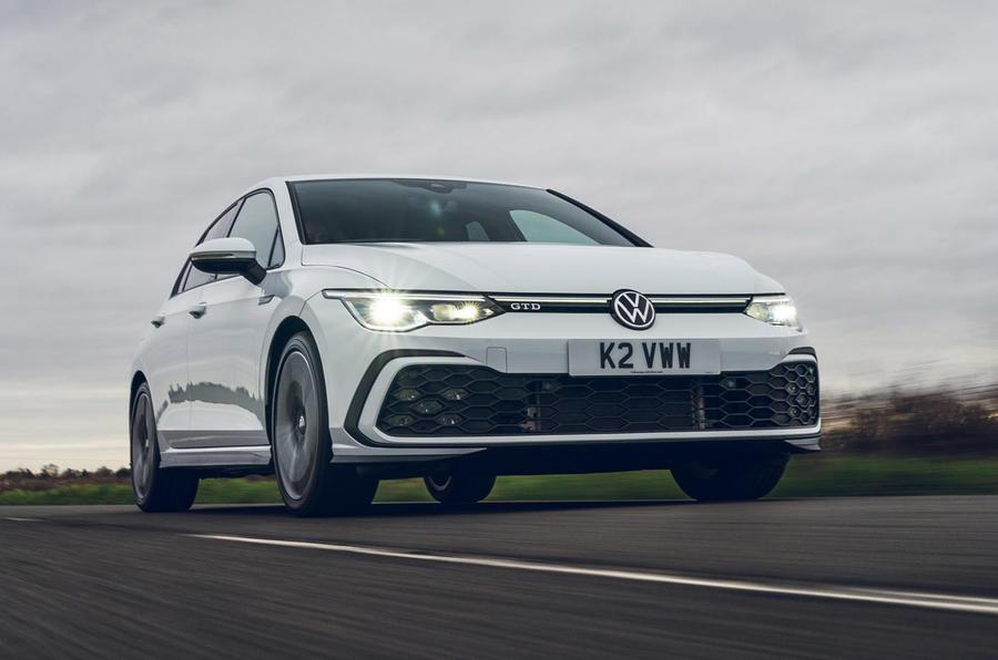 1 Volkswagen Golf GTD 2021 : le premier héros de l'examen de conduite au Royaume-Uni