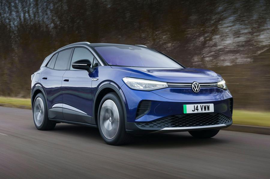 1 Volkswagen ID 4 2021 UE : premier essai essai avant héros