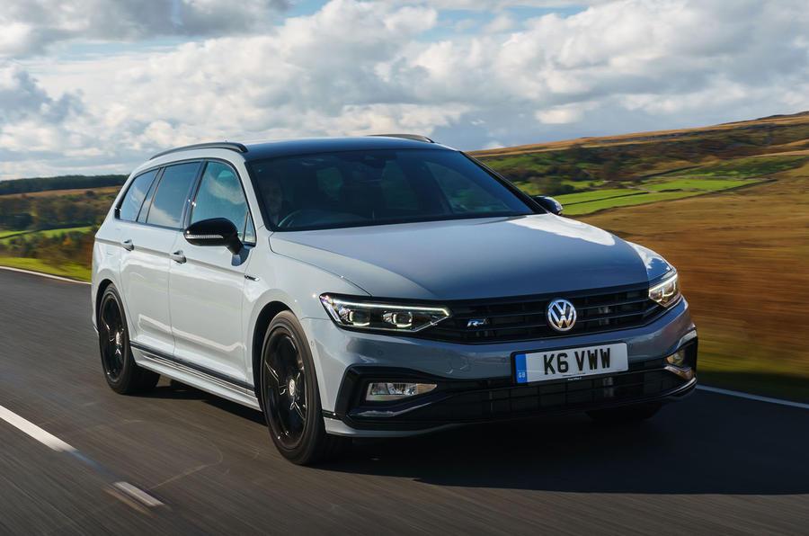 Volkswagen passat Estate R Line 2019 UK review - hero front