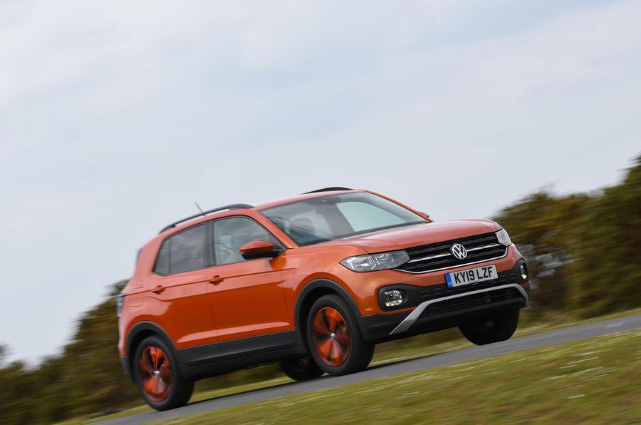 Volkswagen T-Cross - hero front