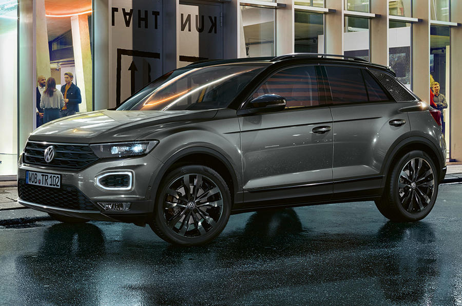 Volkswagen T-Roc Black Edition 2020 - static front