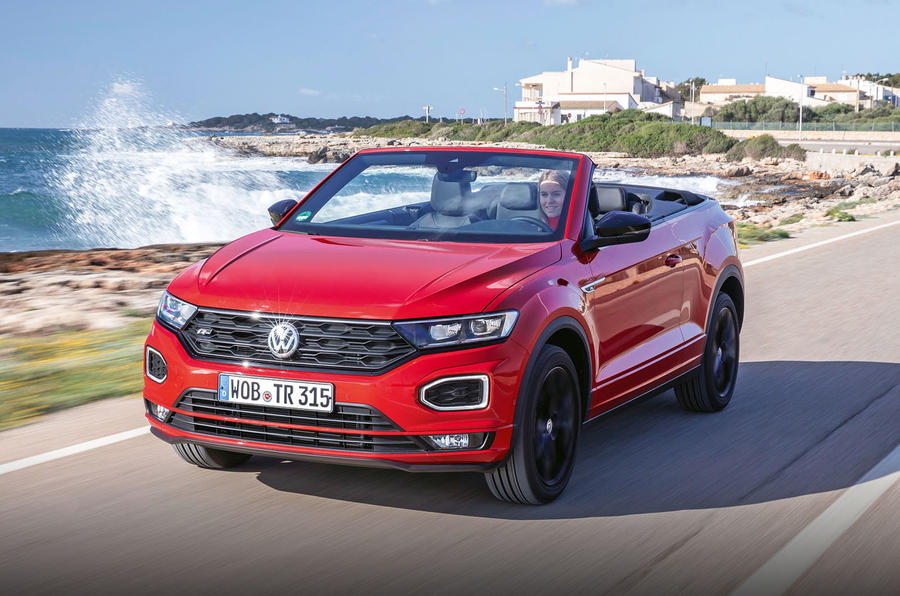 Volkswagen T-Roc Cabriolet 2020 first drive review - hero front