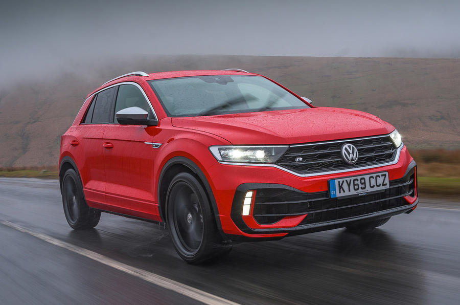 Volkswagen T-Roc R 2020 UK first drive review - hero front