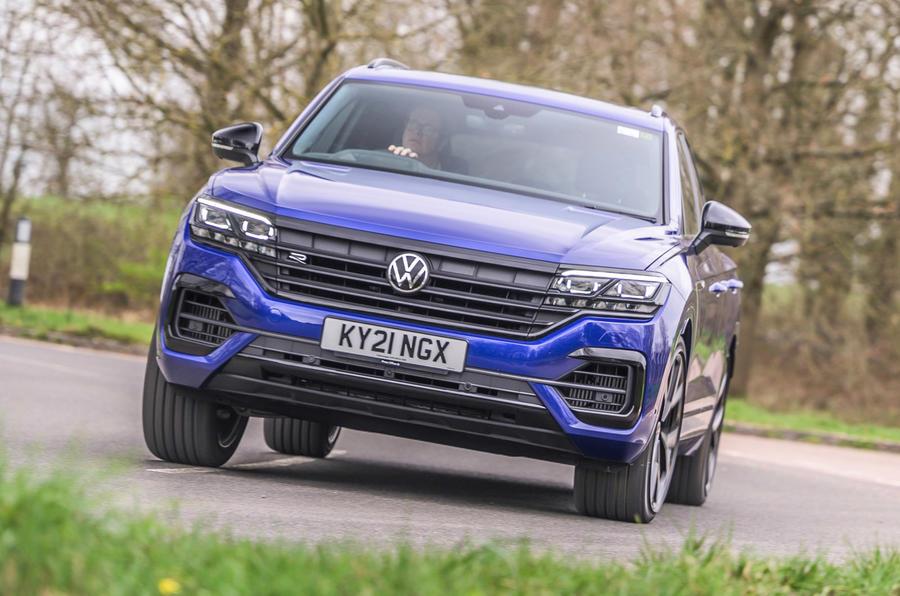 1 Volkswagen Touareg R eHybrid 2021 UE : premier essai avant héros