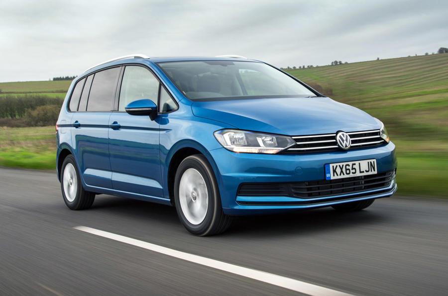 Volkswagen Touran - hero front