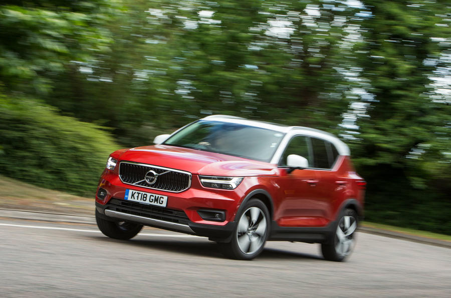 Volvo XC40 T3 2018 first drive review hero front
