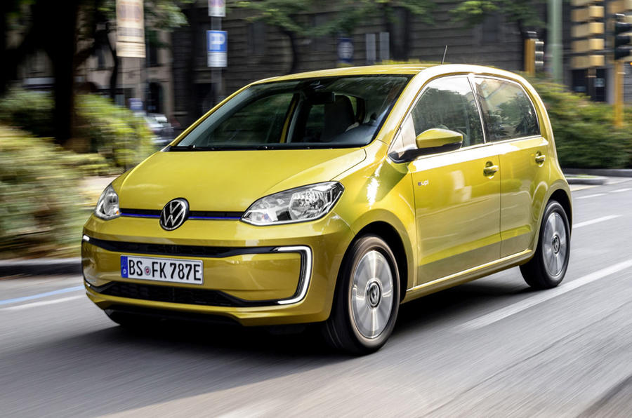 Volkswagen e-Up 2020 first drive review - hero front