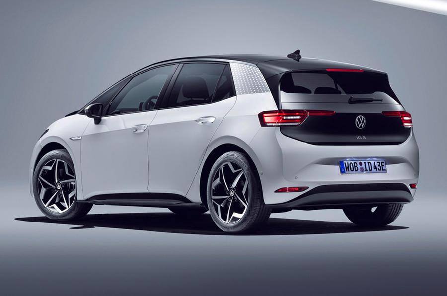 VW ID 3 2020 - static rear