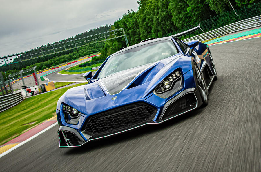 Zenvo TSR-S 2019 first drive review - hero front