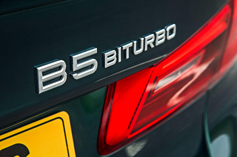 Alpina B5 BiTurbo saloon BiTurbo badge