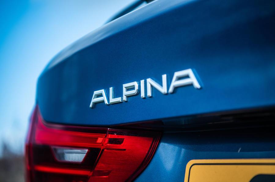 Alpina B5 Touring 2018 UK first drive review - Alpina badge