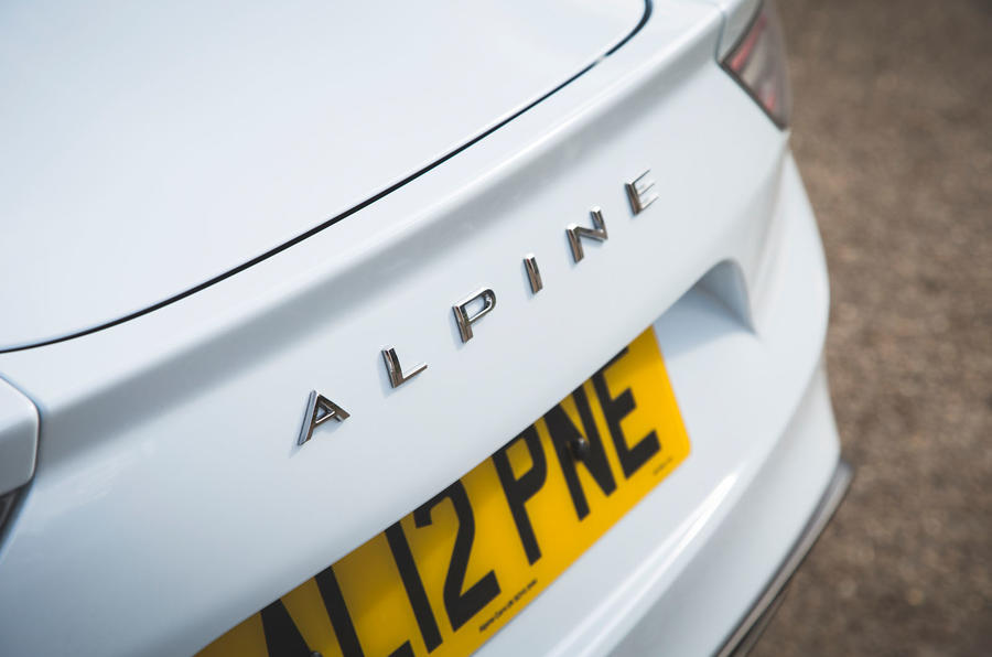 Alpine A110 Pure 2019 UK first drive review - rear end