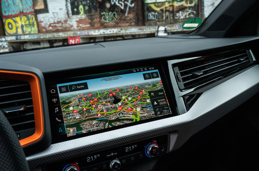 Audi A1 Citycarver 2019 first drive review - infotainment