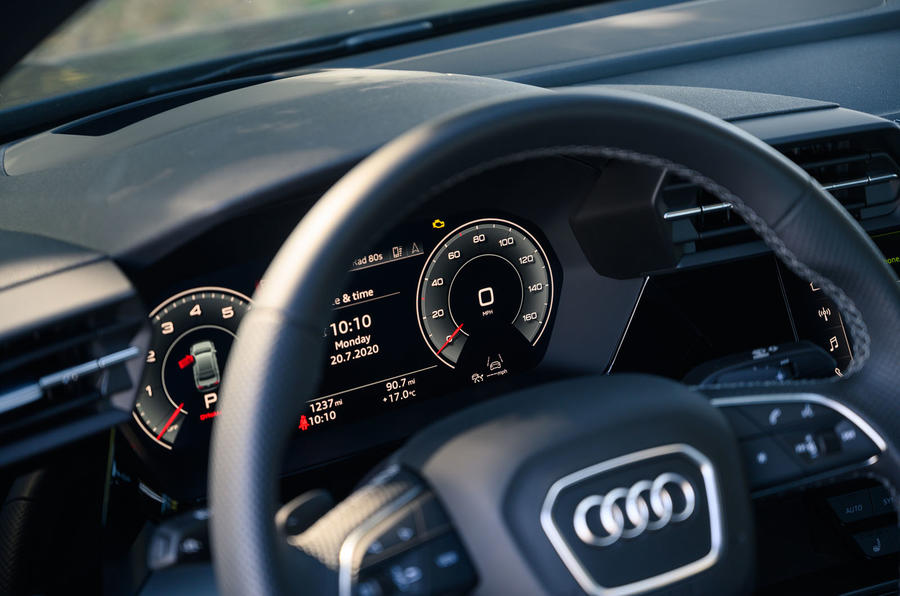 Audi A3 saloon 2020 UK first drive review - instruments