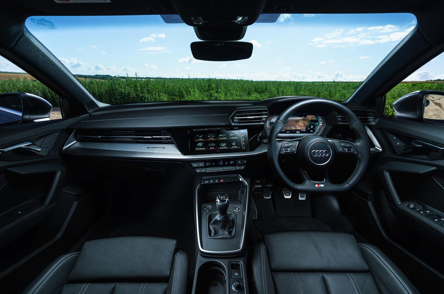 Audi A3 Sportback 2020 UK first drive review - cabin