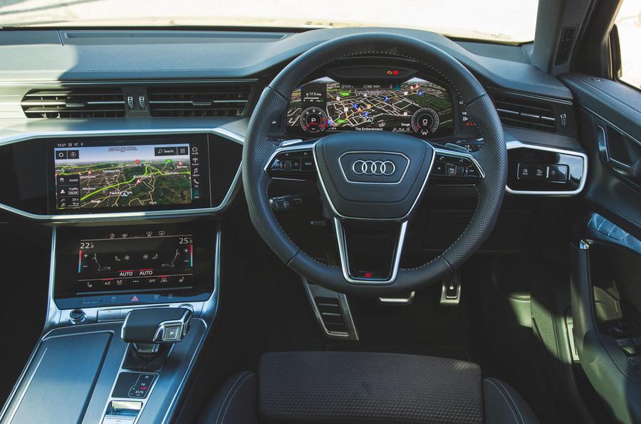 Audi A6 2018 long-term review - dashboard