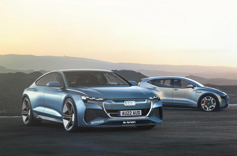 Audi A9 E-tron render - static front