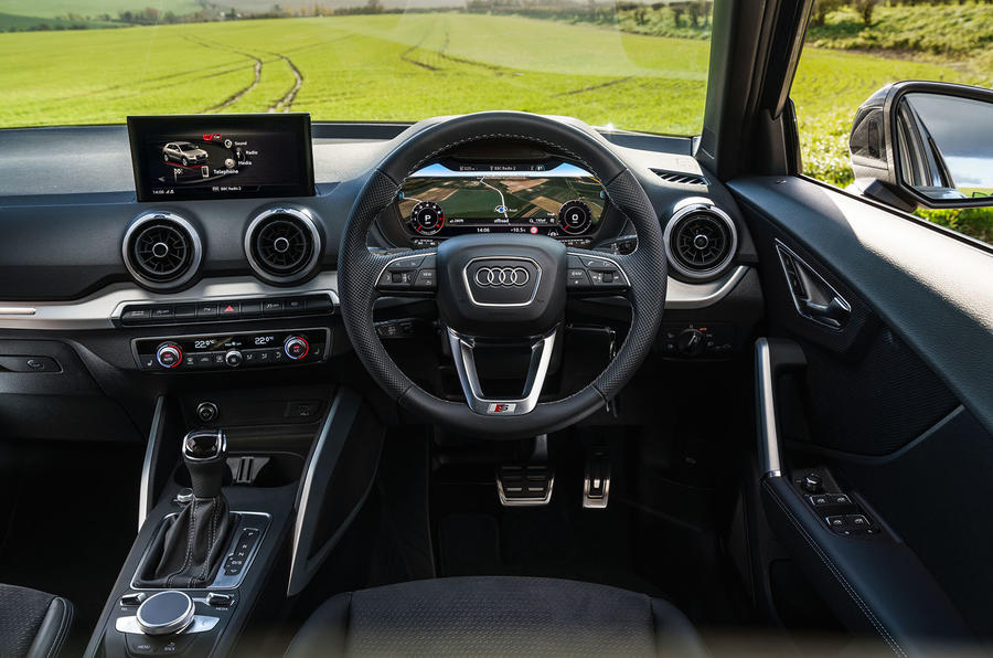 Audi Q2 35 TFSI Sport 2020 UK first drive review - dashboard