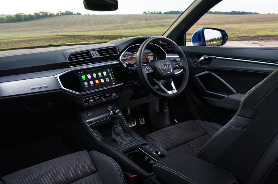 Audi Q3 Sportback 2019 UK first drive review - dashboard
