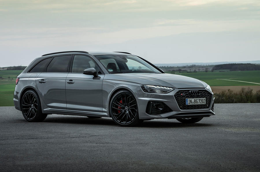 Audi RS4 Avant 2020 first drive review - static front