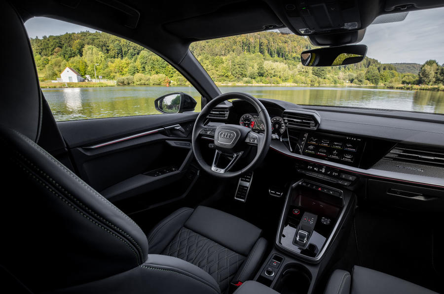 Audi S3 Sportback 2020 first drive review - dashboard