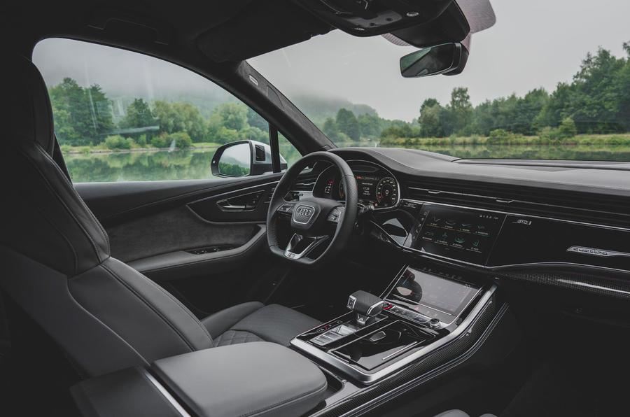 Audi SQ7 2020 : premier bilan de conduite - tableau de bord