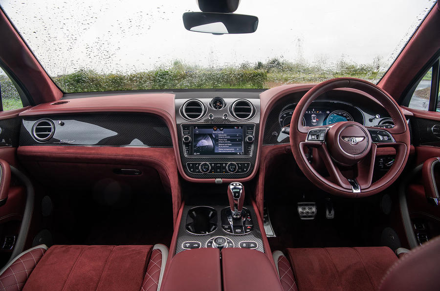 Bentley Bentayga Speed 2019 UK first drive review - cabin