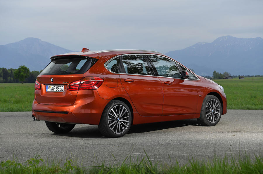 BMW 2 Series Active Tourer 2018 review static rear